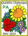 April Showers Bring May Flowers Badge