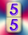 Double 5s Times 5 Badge