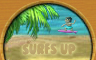 The Surf is Up! Badge