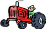 Little Red Tractor Badges