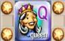 Q for Queen Badge